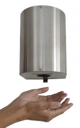 Secador de Mãos com Gabinete em Inox Escovado (127V ou 220V)